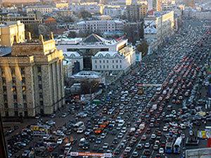 Гигантские пробки в Москве