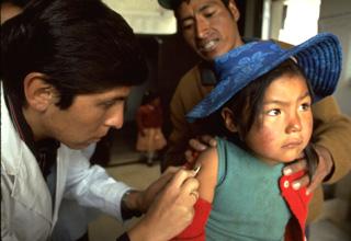 Несчастная латиноафриканская девочка заболела жёлтой лихорадкой