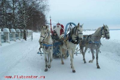 Зимний отдых в Великом Устюге