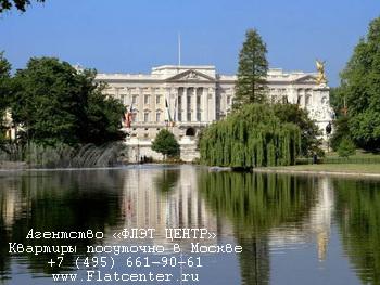 Фото Букингемского дворца в Лондоне