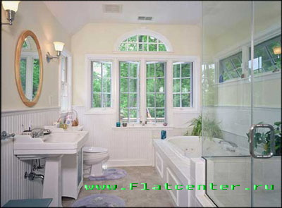 Дизайн ванной комнаты.Интерьер,ремонт отделка ванной.