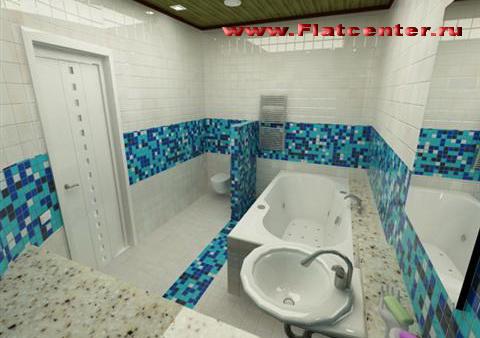 Интерьер и дизайн в ванной комнате