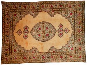 Фото классического индийского ковра.Восточный ковёр
