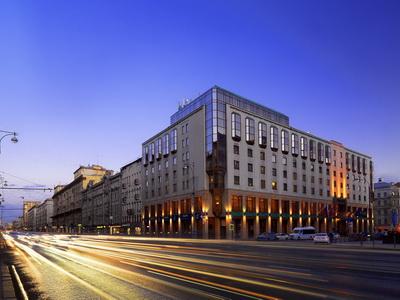 Фото, рекомендации и отзывы об гостинице «Шератон Палас Москва» рядом с метро Белорусская в Москве