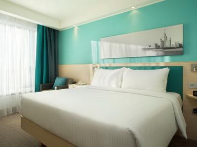 Фото, рекомендации и отзывы об отеле «Hampton by Hilton Moscow Strogino» у метро Мякинино в Москве