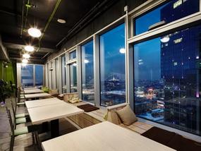 Фото, отзывы и рекомендации о капсульном отеле «47Nebo» у м.«Студенческая&, в небоскребе «Империя»
