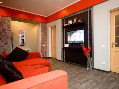 Фото, описание и отзывы об апартаментах посуточно рядом 2-ой Щемиловский переулок 16/20, с метро «Достоевская» в Москве