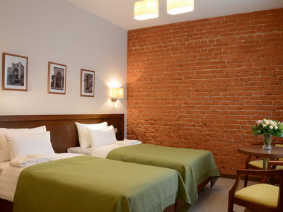 Фото, описание и отзывы о отеле «Графский» рядом с метро Парк Культуры