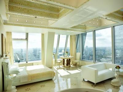 Фото, отзывы и рекомендации о номере с панорамным видом в отеле «Империя-Сити» в башне «Империя»