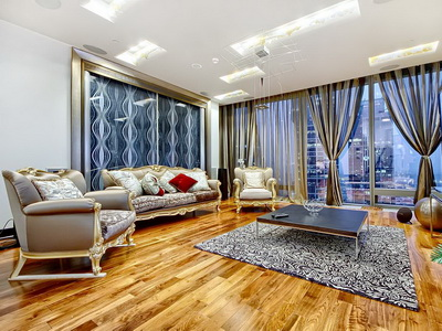 Фото, отзывы и рекомендации о номере на 48 этаже в отеле «Sky Apartments» в башне «Федерация-Запад»