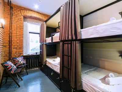 Фото, отзывы и рекомендации о хостеле «Лофт 77» рядом с метро Тверская