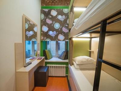 Фото, описание и отзывы об хостеле «Винигрет» рядом с метро Смоленская в Москве