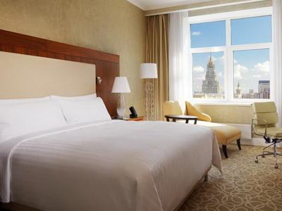 Фото, отзывы и рекомендации об отеле «Марриотт Отель Новый Арбат Москва» м.«Беговая» в Москве