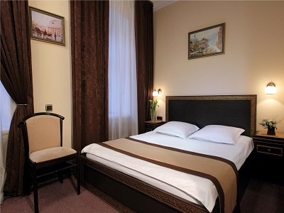 Фото, описание и отзывы об отеле «Елисеефф Арбат» рядом с р-н Арбат в Москве