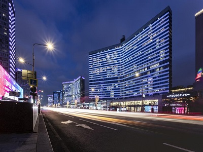 Фото, описание и отзывы об отеле «Pentahotel Moscow» рядом с метро Смоленская в Москве