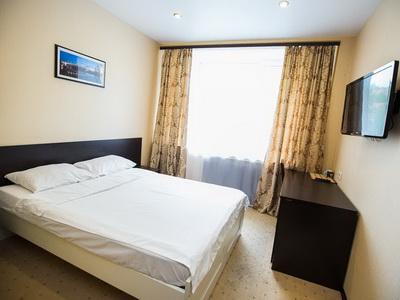 Фото, отзывы и рекомендации об отеле «Бизнес Сити» у «Экспоцентра»