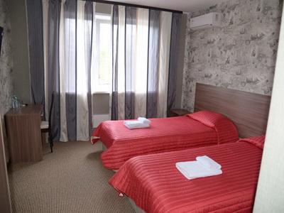Фото, отзывы и рекомендации об отеле «Экспотель» у «Экспоцентра»