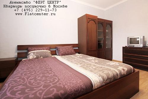 Квартира посуточно рядом с метро Алексеевская. 3-я Мытищинская д.3