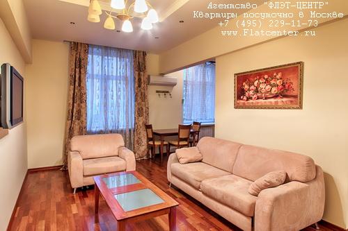 Квартира посуточно рядом с метро Алексеевская, Проспект мира 112