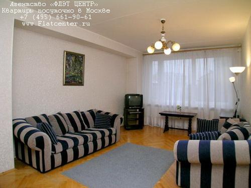 Квартира посуточно на м.Арбатская,Новый Арбат д.16.