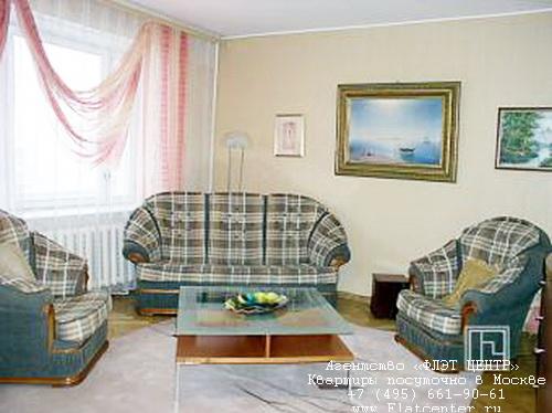 Квартира посуточно на м.Арбатская,ул. Новый Арбат д.6 .