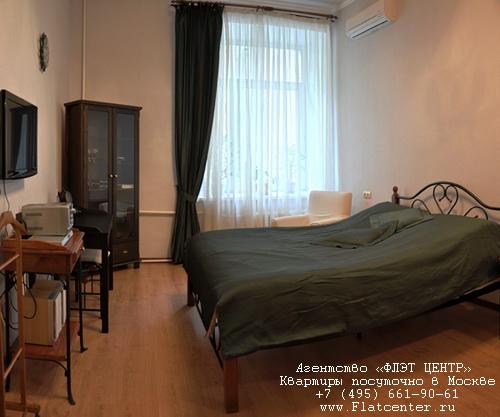 Квартира посуточно на м.Арбатская,ул.Поварская д.26.