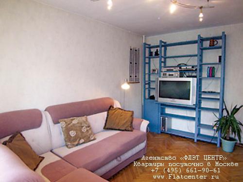 Квартира посуточно на м.Баррикадная,Вспольный пер д.16.