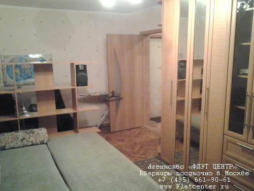 Квартира посуточно м. Бауманская,в центре Москвы