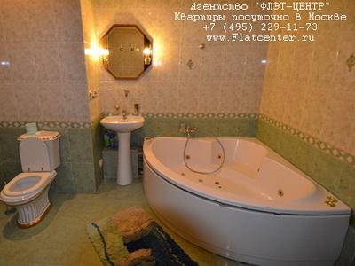 Джакузи в квартире посуточно у метро Беговая в Москве, Хорошевское шоссе д.1