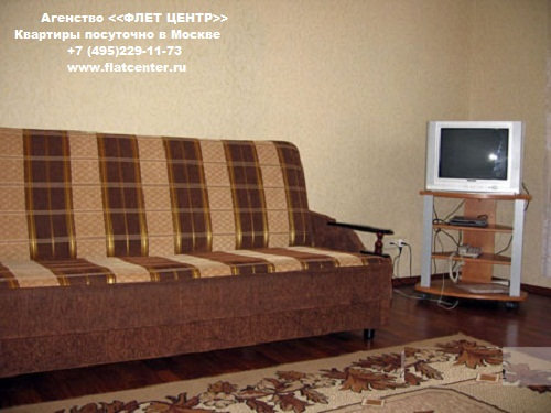 Квартира посуточно на м.Белорусская,Грузинский Вал  д. 28.