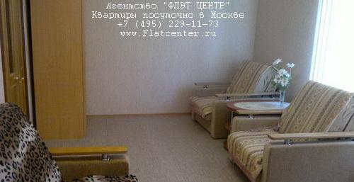 Квартира посуточно на м.Белорусская,ул.Б.Грузинская д.62.