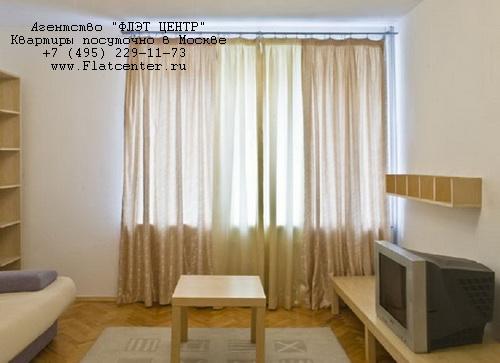 Квартира посуточно на м.Белорусская,Б.Кондратьевский пер.д.6 .
