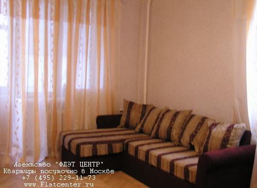 Квартира посуточно на м.Белорусская,Б.Кондратьевский пер. д.4.