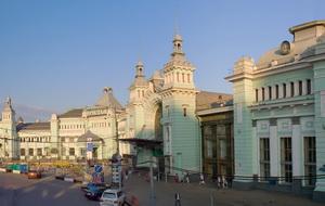 Фото Белорусского вокзала