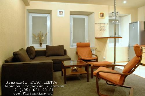 Квартира на сутки м.Белорусская,Электрический пер д.12