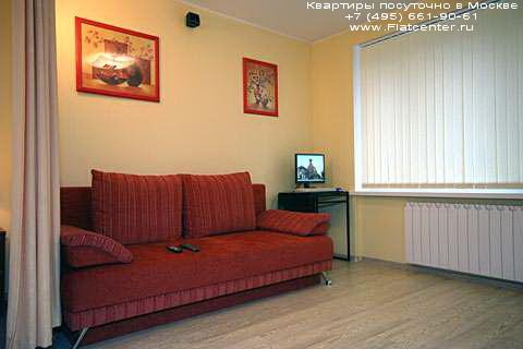 Квартира посуточно на м.Белорусская,Грузинский пер д. 8.