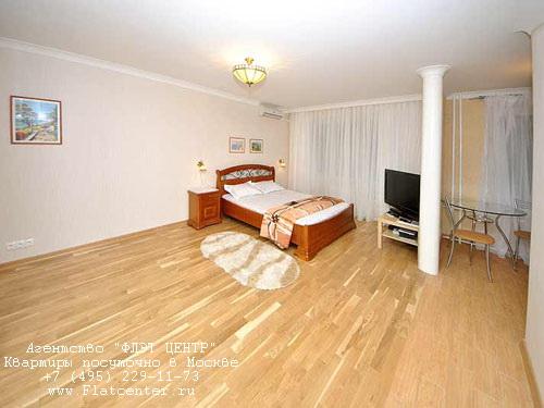 Квартира посуточно на м.Белорусская, Грузинский пер.  д. 6.