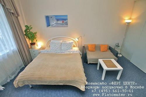 Квартира посуточно на м.Белорусская,Грузинский Вал д.14.