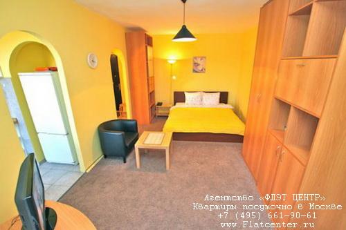 Квартира посуточно на м.Белорусская,Б.Кондратьевский  д.12.