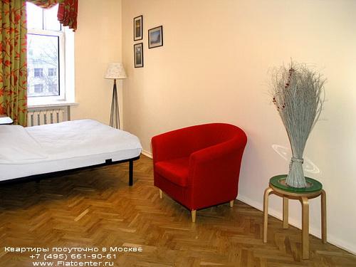 Квартира посуточно на м.Белорусская,Ленинградский пр-т 5.Гостиница у Белорусского вокзала