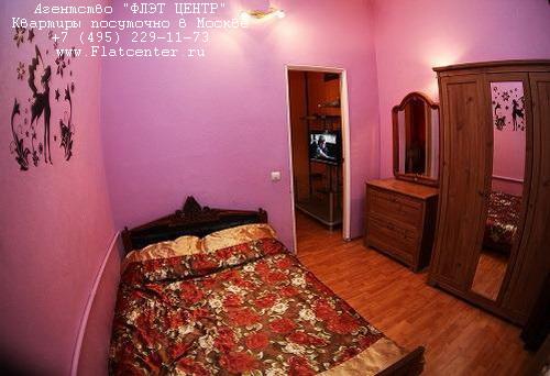 Квартира посуточно на м.Белорусская,ул.Нижняя д.5.