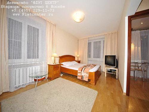 Квартира на сутки м.Белорусская,Новолесная д. 11