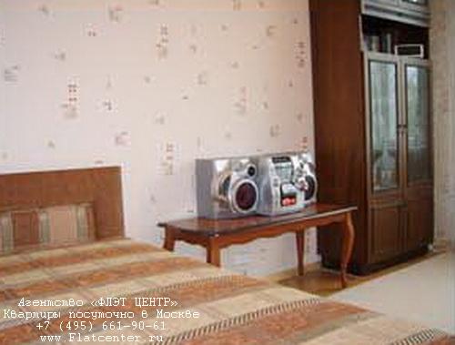 Квартира посуточно на м.Белорусская,ул.Новолесная д.6а.