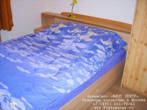 Квартира посуточно на м.Белорусская,ул.Новолесная д.7.