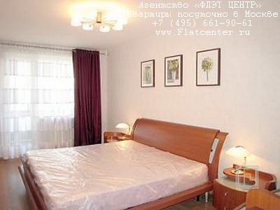 Квартира посуточно на м.Белорусская,ул. Новолесная д.18 .
