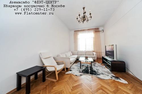 Квартира посуточно на м.Белорусская,ул.Правды д.6.