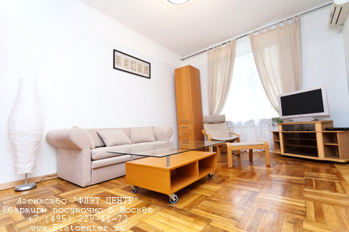 Квартира посуточно на м.Белорусская, ул.Правды д.6.