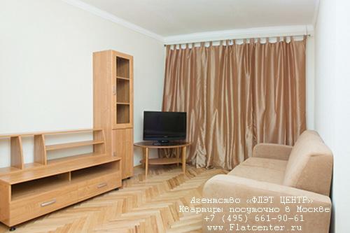 Квартира на сутки м.Белорусская,ул.Скаковая д.1/4