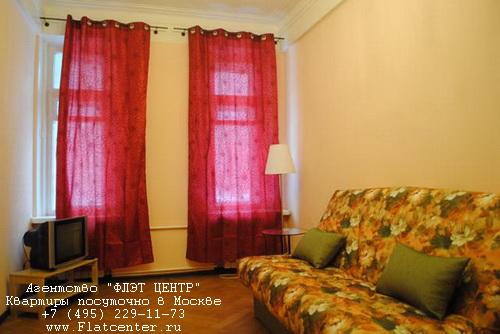 Квартира посуточно на м.Белорусская,Тишинская пл. д.6.