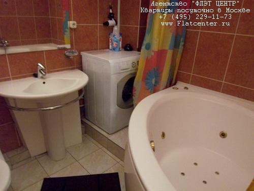 Джакузи в квартире посуточно в Москве на м.Белорусская, на ул.1-я Тверская-Ямская д.28